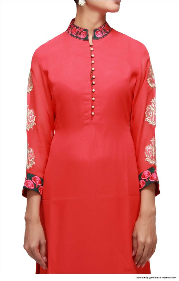Fashionable Collar Neck Designs For Kurtis Kurti Designs Kurti Neck Designs Kurta Neck Design Neck Designs