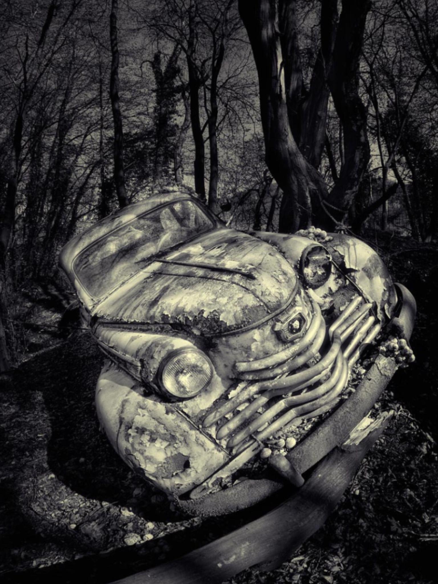 The End. Source sven-fennema.de photo-series end-of-the-journey