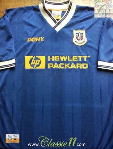 Relive Tottenham Hotspurs  1997 1998 season with this vintage Pony away  football shirt. e3c8b39ad