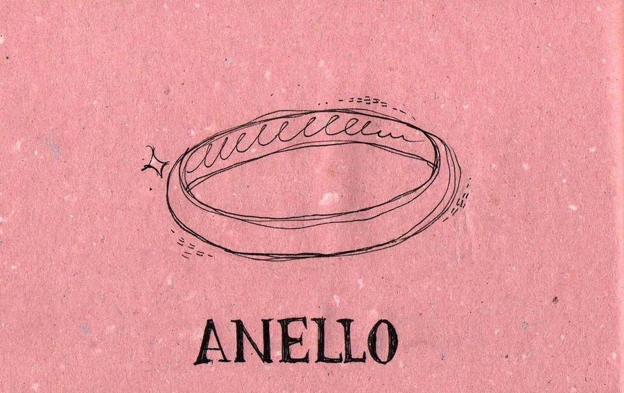 Italian Language ~ Anello (Ring) IFHN