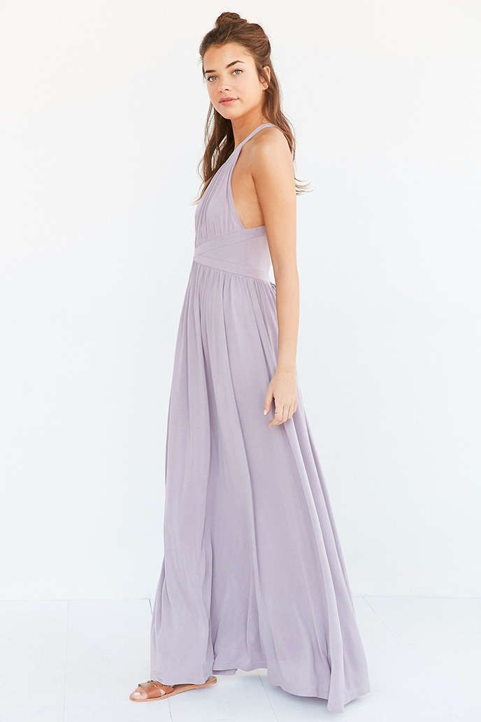 Silence Noise Goddess Knit Maxi Dress Urban Outfitters Clothes