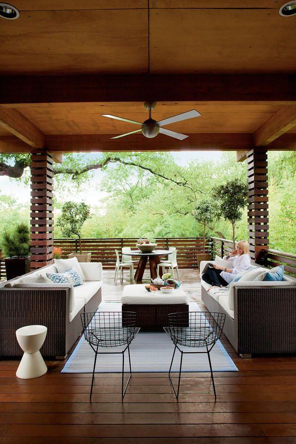 79 Porches and Patios Luces y Casas