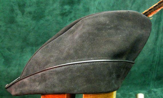 Handmade Suede Leather Robin Hood Hat  c3002bec148