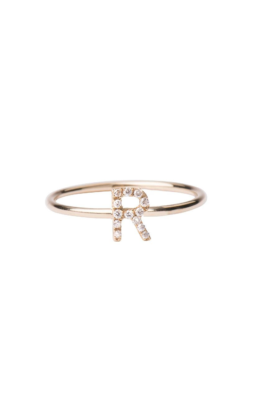 Diamond initial ring initials diamond and ring diamond initial ring letters by zoe jewelry thecheapjerseys Gallery