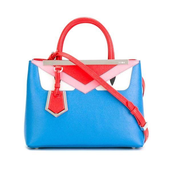 """Fendi Handtasche mit Bag Bugs""""-Design"""""""