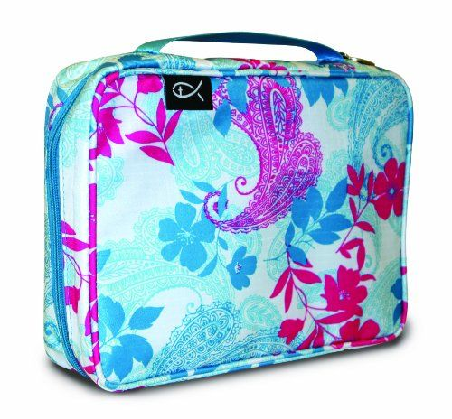 Divinity Boutique Bible Cover Basic Nylon Paisley and Leaves, Pink/Blue - Extra Large (22325) Divinity Boutique http://www.amazon.com/dp/B00JRG7R22/ref=cm_sw_r_pi_dp_bvrsvb05MM1NF