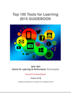 Here Are The Top 100 Tools For Learning 2015 Personalized Learning Presentation App Workplace Learning