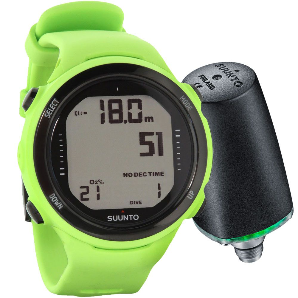 Suunto D4i Novo Watch Dive Computer with USB and
