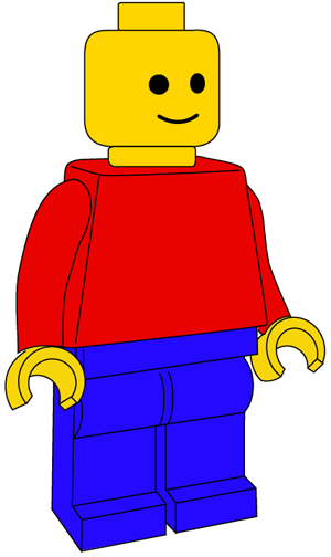 Lego Drawing Easy : drawing, Minifigure, Drawing, Tutorial, Tutorials, Drawing,, Poster,