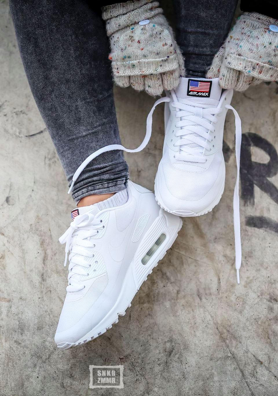 Nike Air Max 90 Hyperfuse  Independence Day  White  5be9bc396