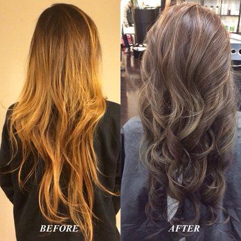 Ash Brown Hair With Caramel Balayage Highlights Google Search