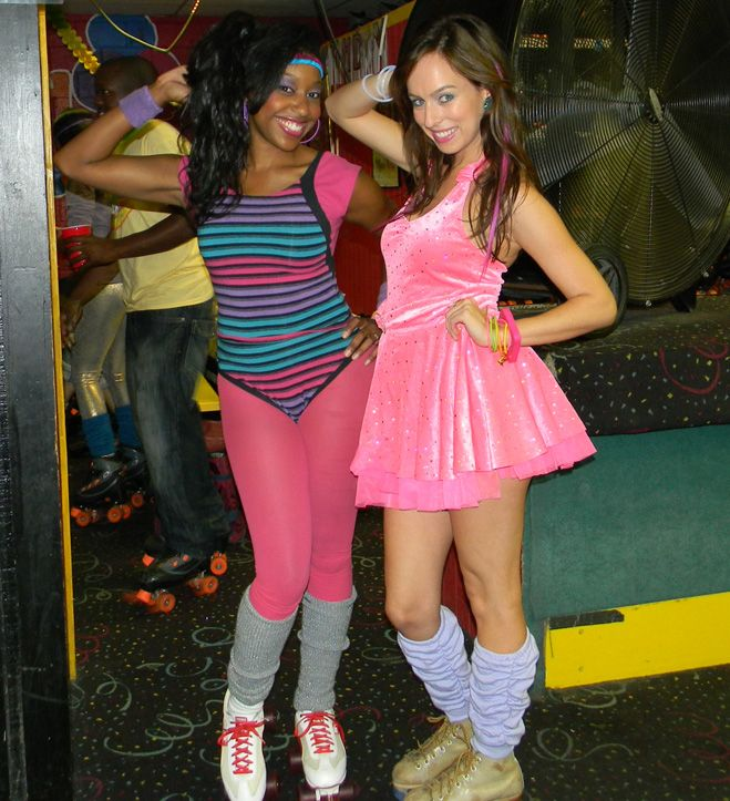 Sydne Summer S Fashion Diary 80s Skate Party 80s Fashion Fashion 80s Outfit