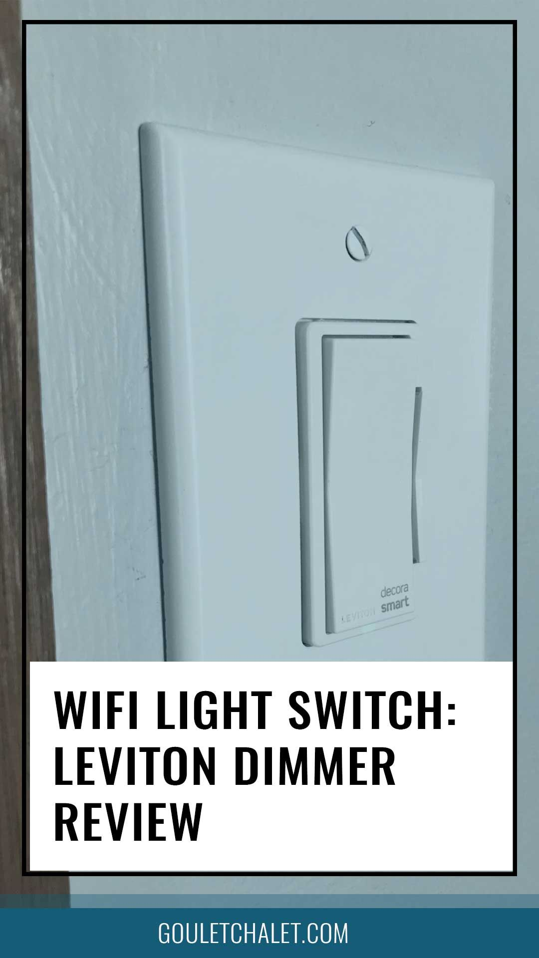 WIFI light swtich review  Convert your home to a smart home