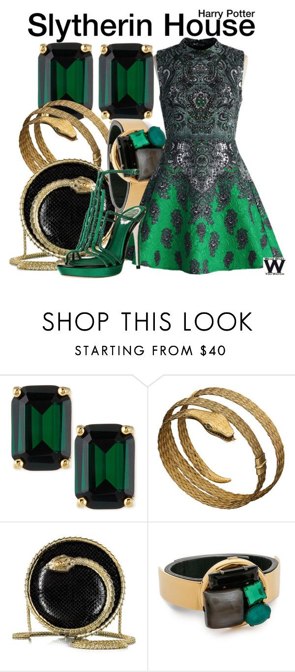"""Harry Potter"" by wearwhatyouwatch ❤ liked on Polyvore featuring Kate Spade, Roberto Cavalli, Marni, Chicwish, wearwhatyouwatch and film"