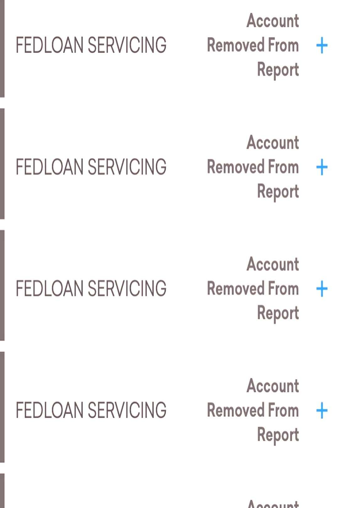 #deletions #servicing #possible #personal #removed #account #fedloan #student #report #needs #auto #text #that #says #loan More student loan deletions who needs an auto loan, personal loanY...