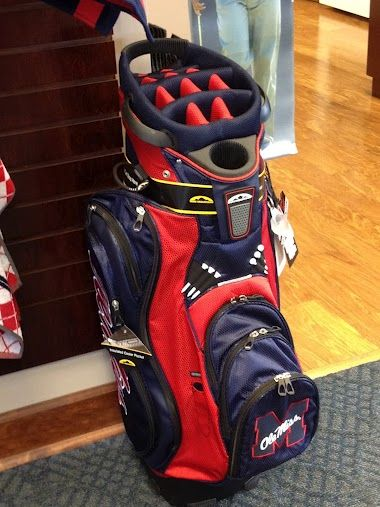 Ole Miss Golf Bag