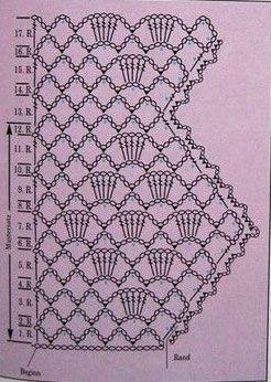 Patterns and motifs: Crocheted motif no. 747