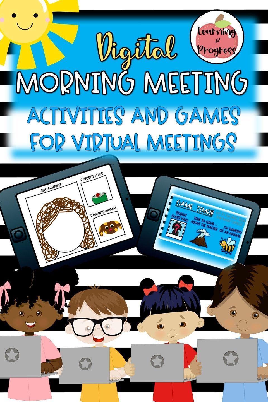 Digital Morning Meeting Virtual Morning Meeting for Zoom