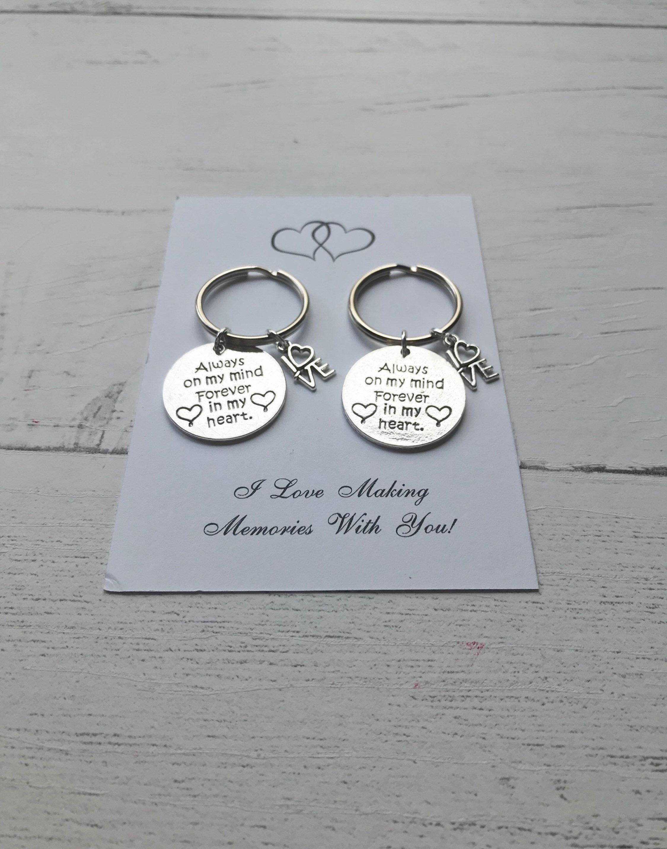 English I Promise Love Bracelet Gift Idea for Husband Wife Fiance Boyfriend Girlfriend