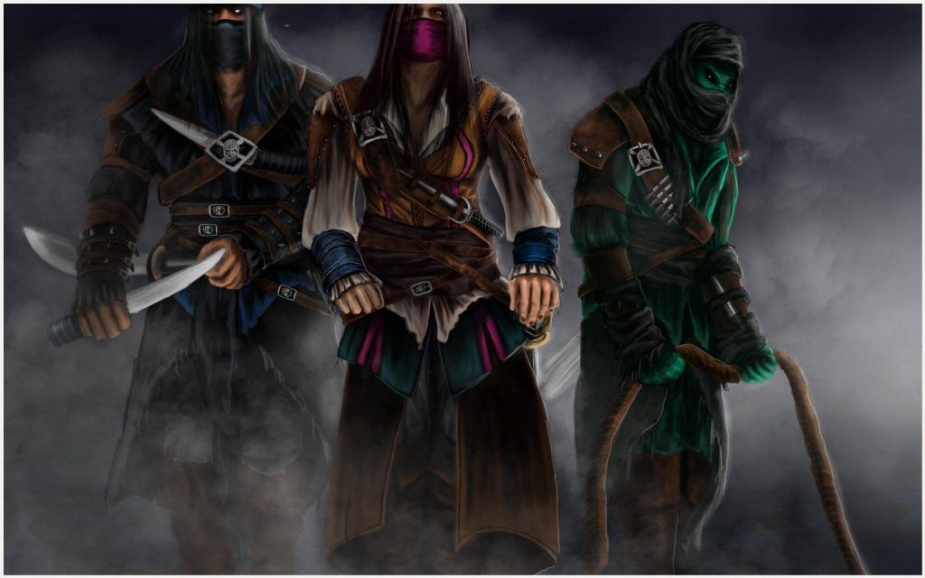 Mortal Kombat 9 Characters