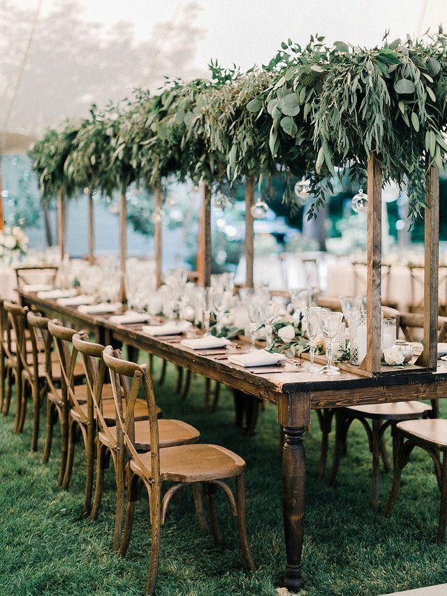 decoracion natural de mesa boda