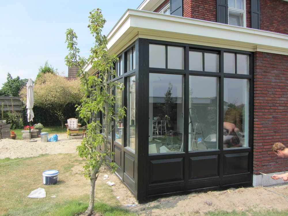 serre uitbouw 3 dining room pinterest serre baies vitr es et verri re. Black Bedroom Furniture Sets. Home Design Ideas