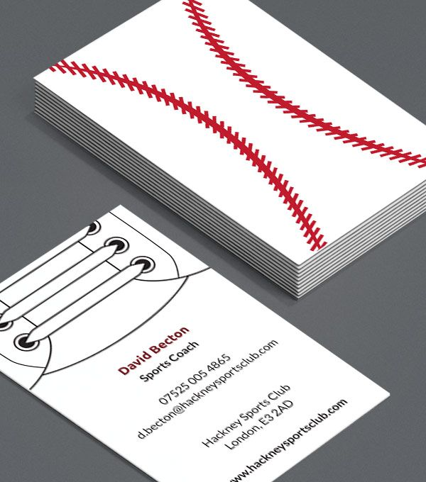 Sports Illustrated These Business Cards For Sports Professionals