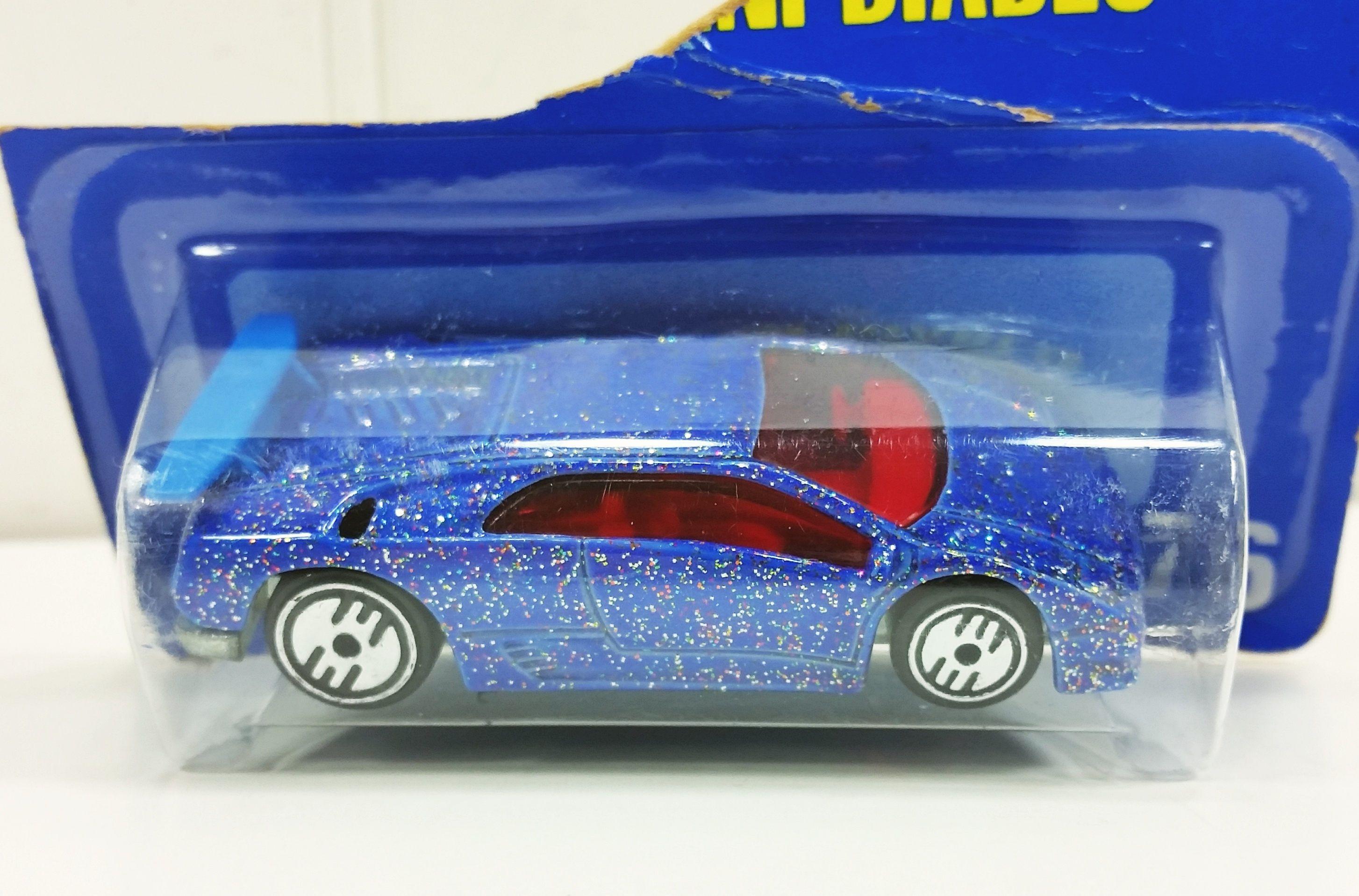 Hot Wheels Lamborghini Diablo Metallic Blue Collector 176 In