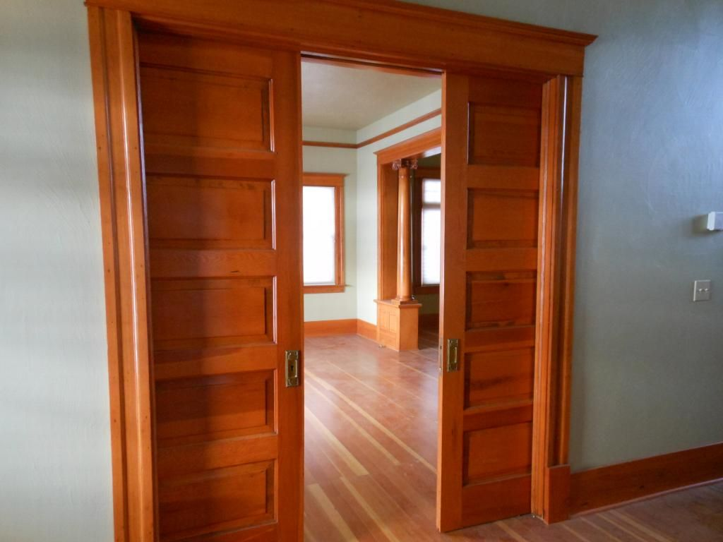 Interior Double Pocket Doors Inspiration Ideas 26987 Design Ideas