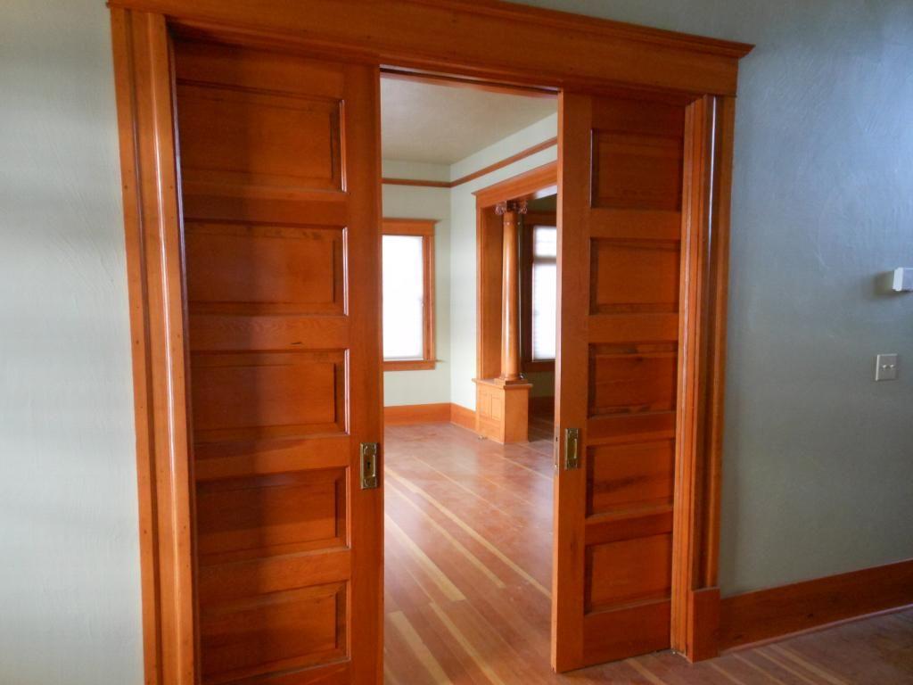 Interior Double Pocket Doors Inspiration Ideas