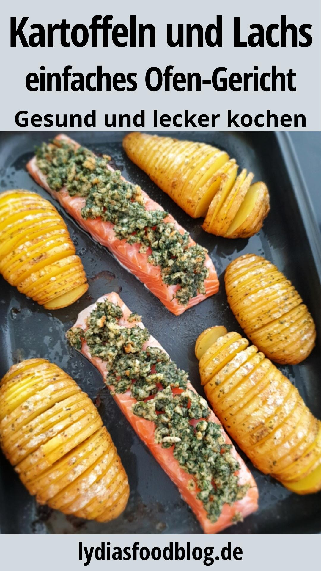 Fächerkartoffeln mit Lachs, Rezept, einfach