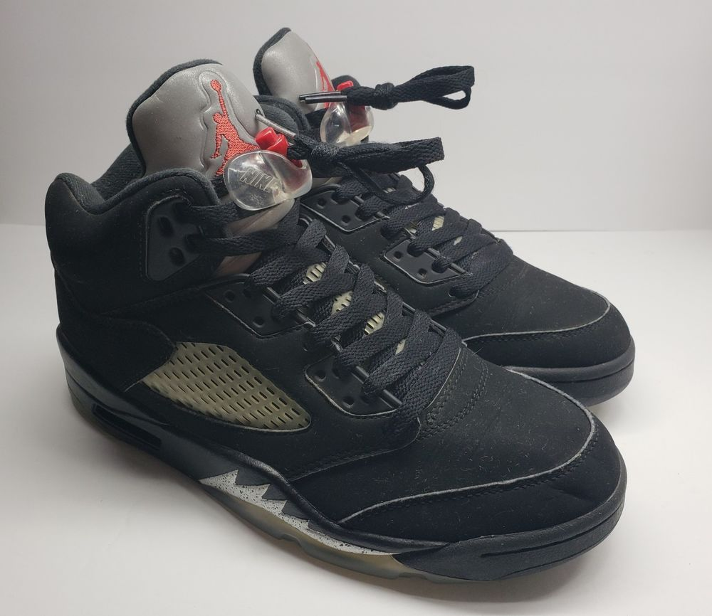 a4e56557f68 Air Jordan 5 Sz 8 Black Metallic  fashion  clothing  shoes  accessories   mensshoes  athleticshoes (ebay link)