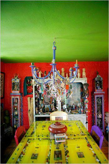 Color Mashup: Casa de Colores, San Miguel de Allende & Giverny