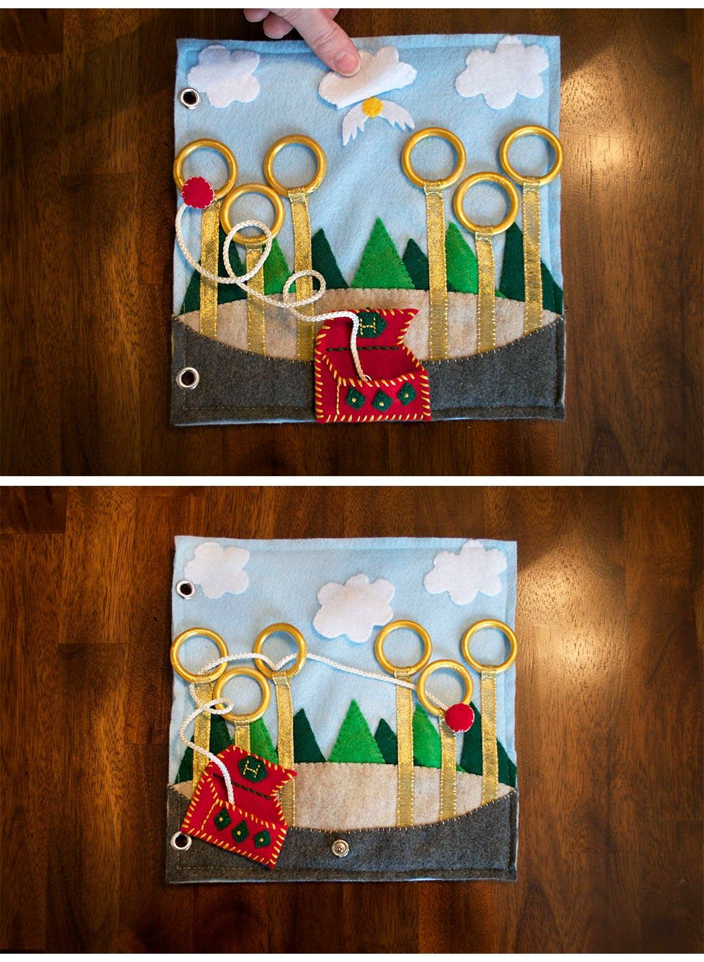 Harry Potter Quiet Book Pages - Today I Felt Crafty **Updated to ...