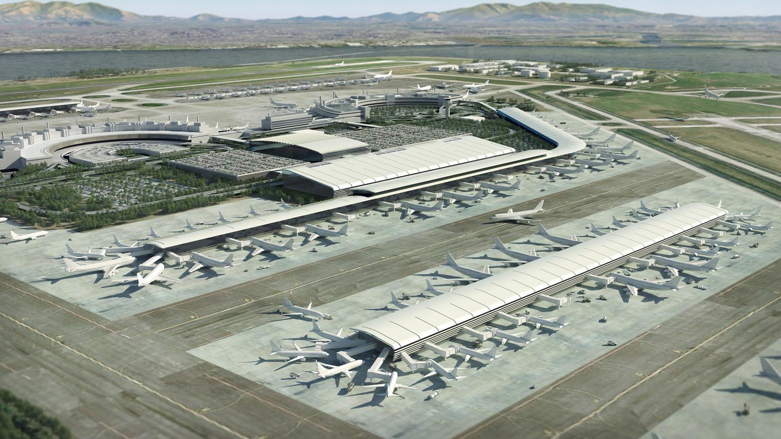 Rio de Janiero Galileo Airport expansion - illustration by ...
