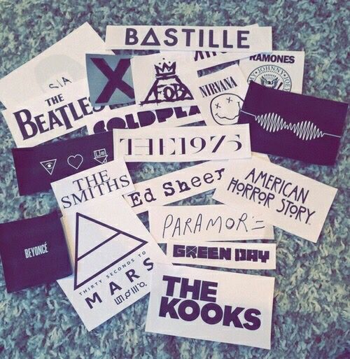 Band stickers