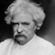 In times of stress and tragedy people often come forward with stories of insights and strong feelings.  Mark Twain
