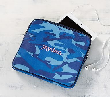 Mackenzie Blue Skateboard Camo Tablet Case With Images