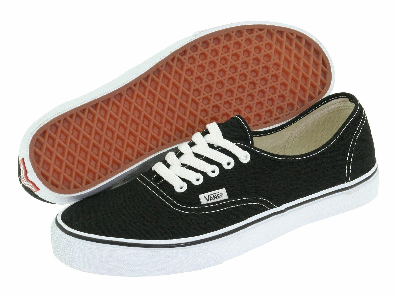 para mi complemento pedazo  Vans Authentic Black / White Mens Womens Classic Canvas Original Shoes -  Vans Shoes for Women - Ideas … | Vans authentic black, Vans authentic, Mens  athletic shoes