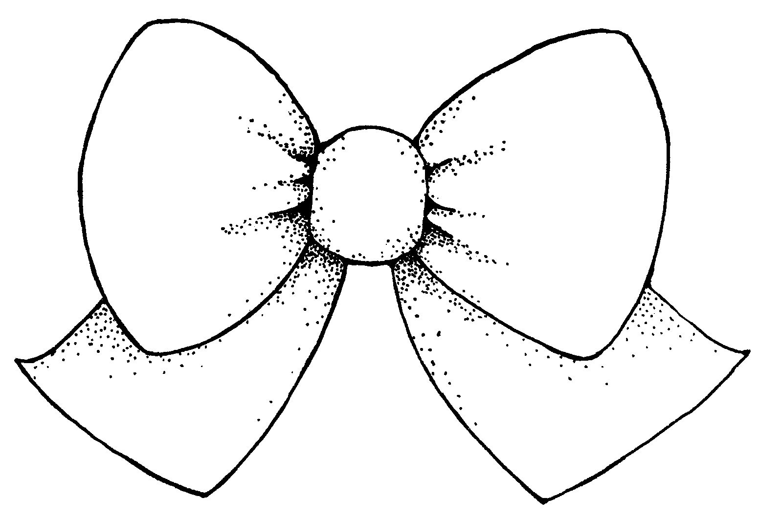 Bow clipart black and white free clipart images 5