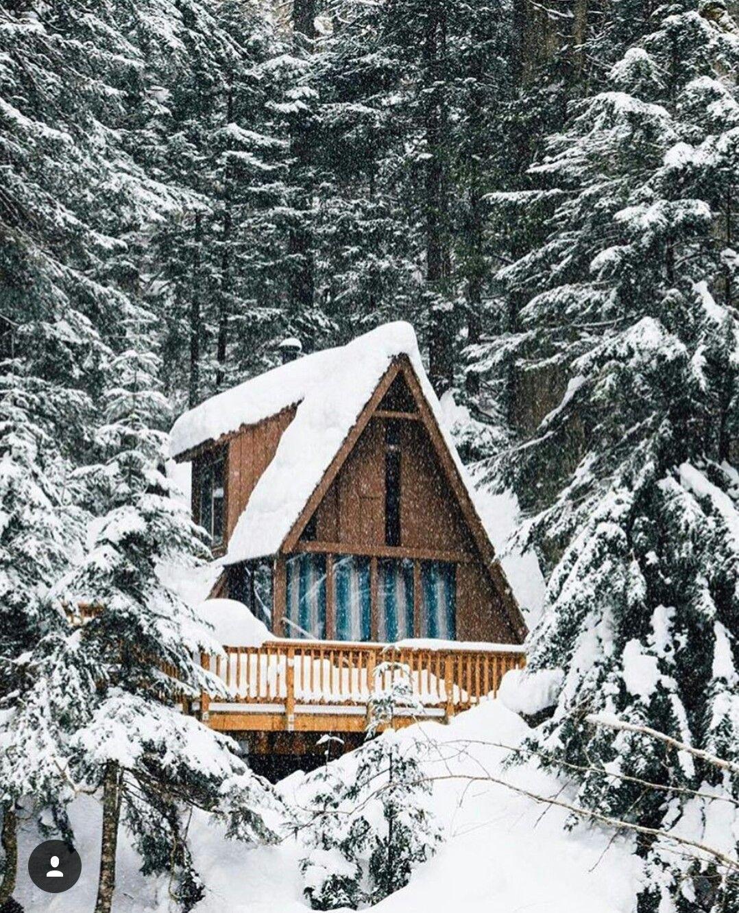 Pin de John Hanson en A-Frame Mountain Home | Pinterest | Cabina ...