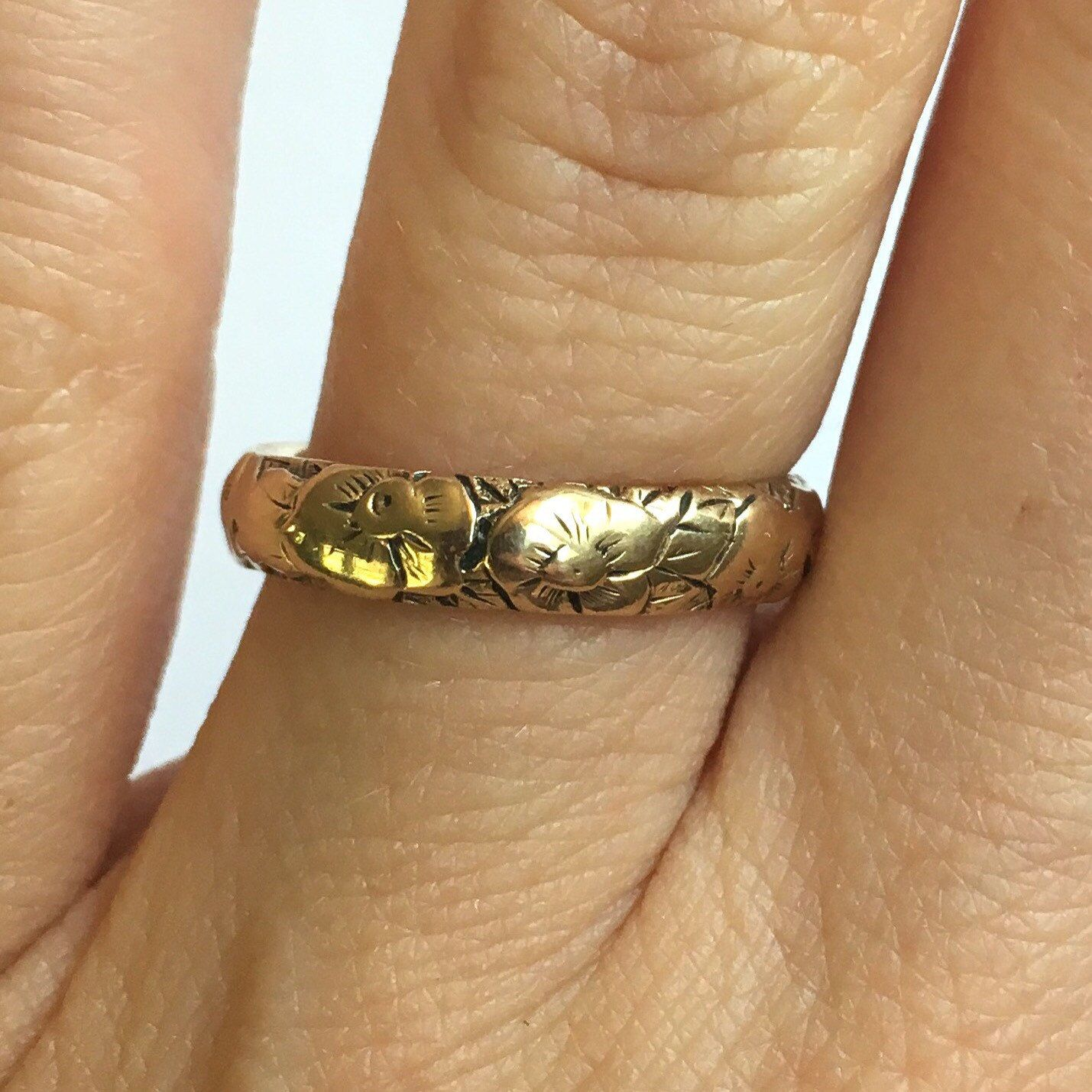 Nothing pares to an antique Tiffany and Co wedding band Just