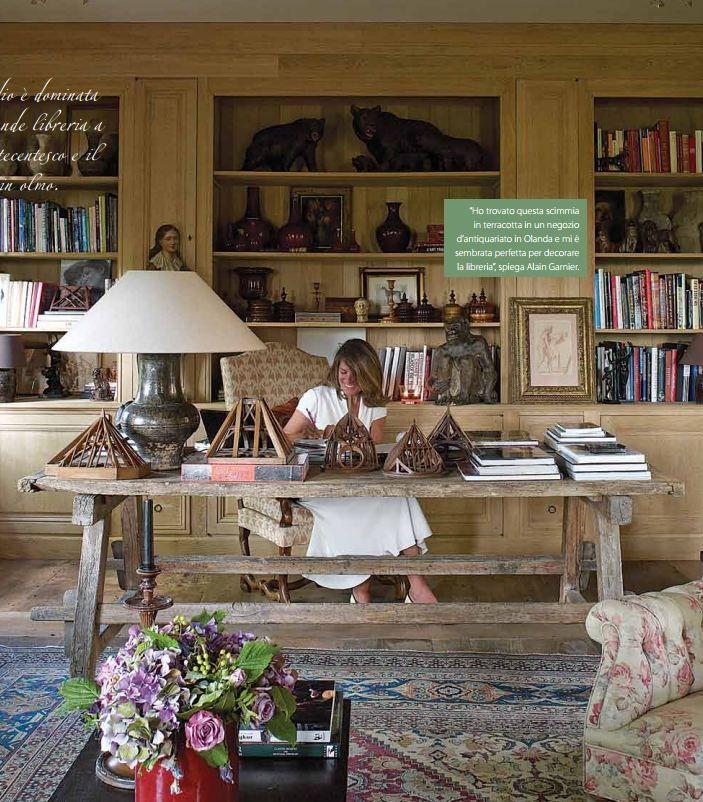 work space of brigitte & alain garnier