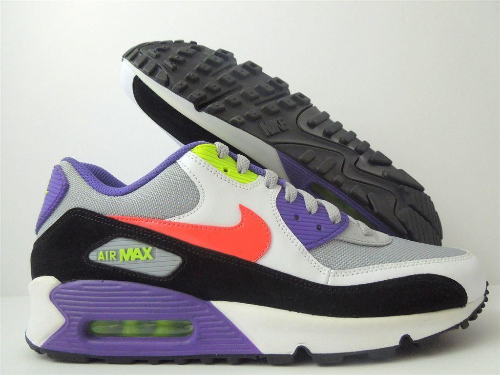 9ed5253a6d557 Nike - Air Max 90 - Lila rosa vit grå - US 10