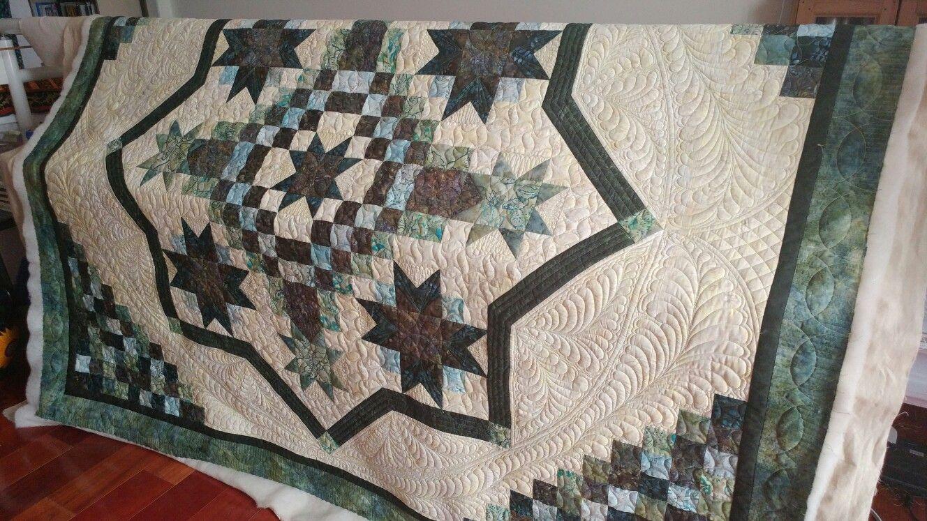 Irish Mist Quilt ...pieced and quilted at Little House Creations ... : irish mist quilt - Adamdwight.com