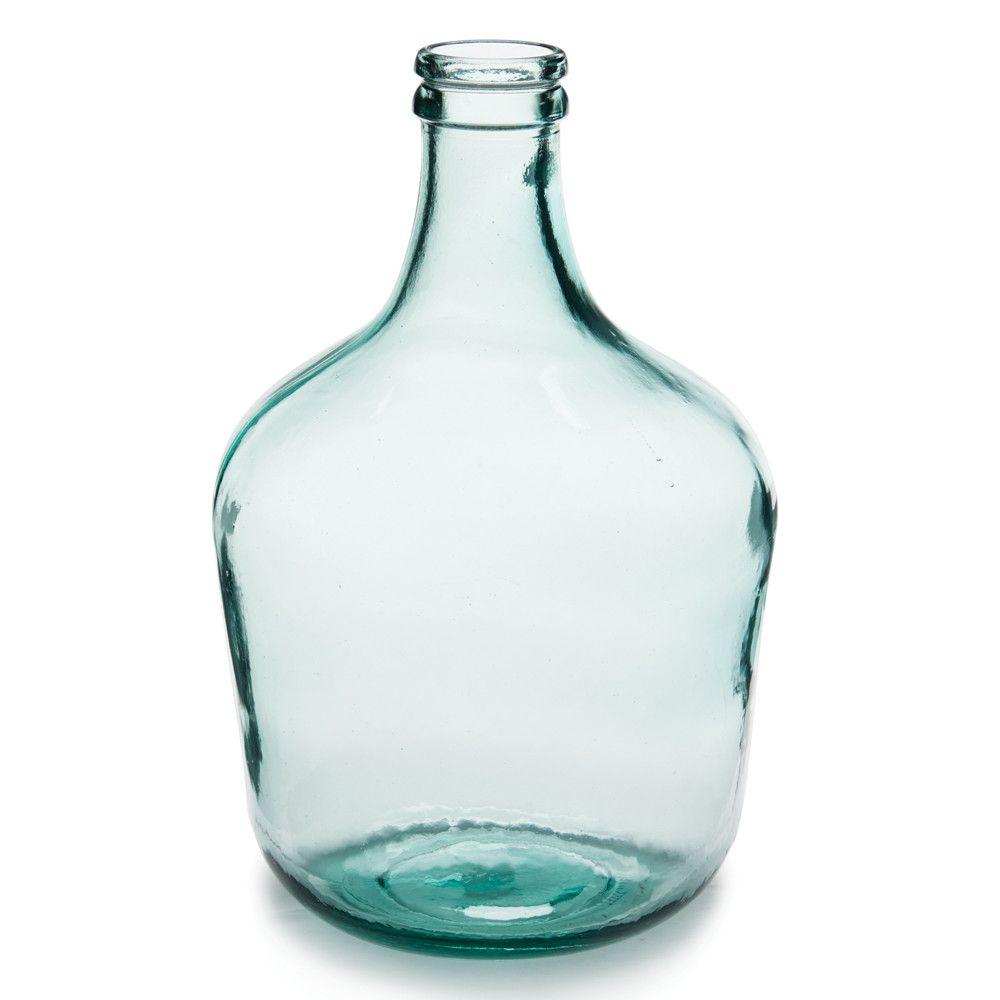 Parisian Bottle Glass Table Vase Bottle Vase Table Vases Vase