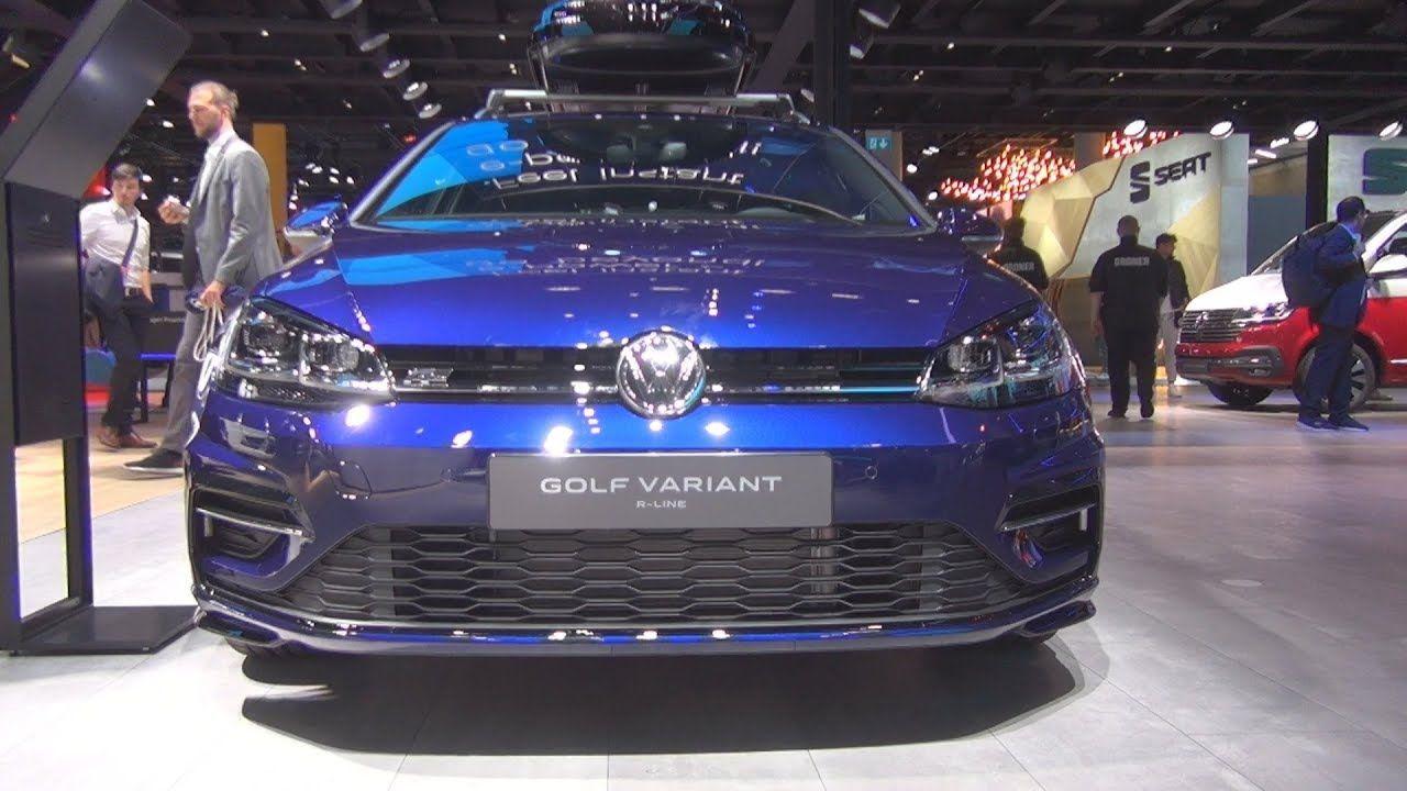 Volkswagen Golf Variant Highline R Line 1 5 Tsi Atc Opf 110 Kw 2020 Exterior And Interior Volkswagen Golf Volkswagen Bmw