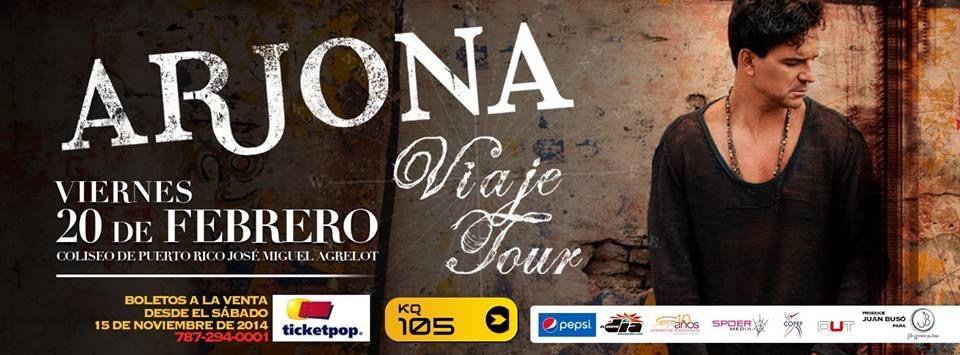Ricardo Arjona: Viaje Tour @ Coliseo de Puerto Rico, Hato Rey #sondeaquipr #ricardoarjona #coliseopr #viajetour #choliseo #hatorey #sanjuan #conciertospr