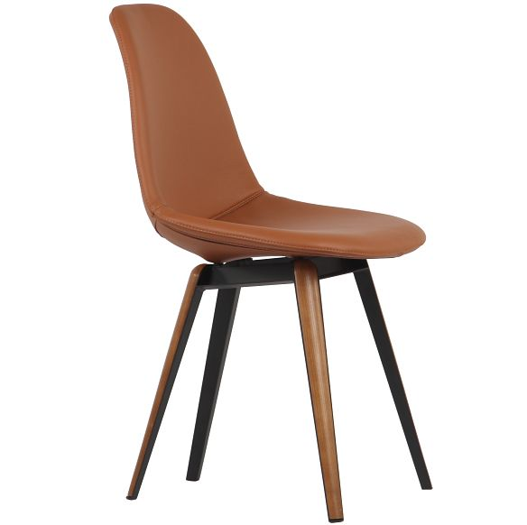 Slice Pop Chair Designed By Sander Mulder Leather Side Chair Leather Dining Chairs Contemporary Dining Chairs