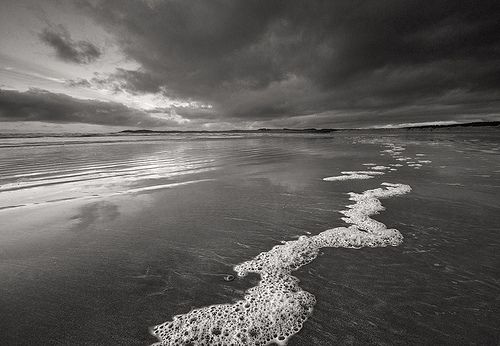 'Beached Bubbles' - Llanddwyn Island, Anglesey by Kris Williams via Flickr